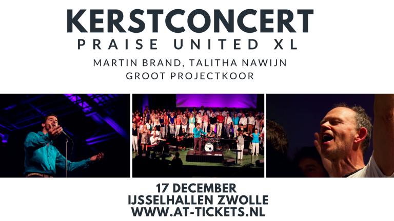 Kerstconcert in de IJsselhallen met Martin Brand & groots landelijk koor