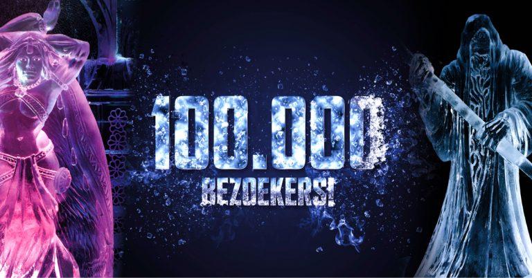 100.000 bezoekers voor IJsbeelen festival!